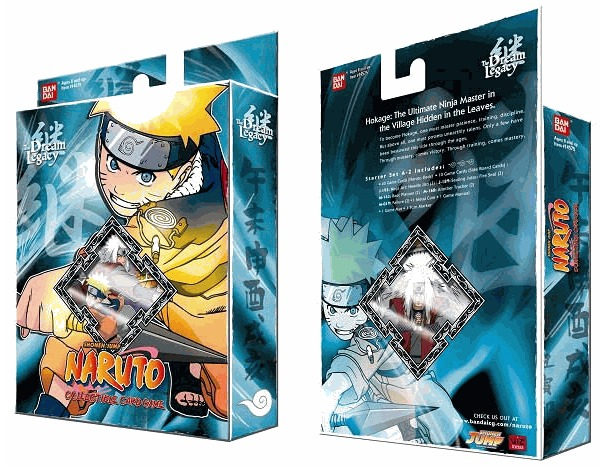 Dream Legacy Naruto A-2 Theme Deck