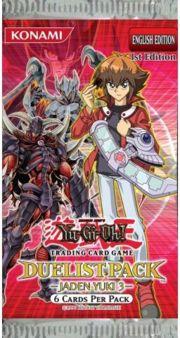Duelist Pack 6: Jaden Yuki 3 1st Edition Booster Pack
