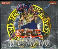 Yu-Gi-Oh Invasion of Chaos 1st Edition Booster Box