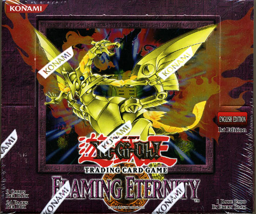 Flaming Eternity 1st Edition Booster Box