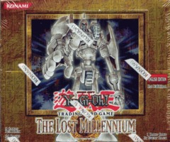 The Lost Millennium 1st Edition Booster Box
