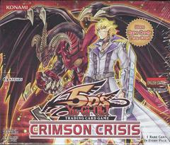 Yu-Gi-Oh Crimson Crisis 1st Edition Booster Box