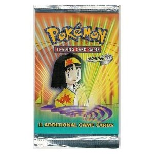 Pokemon Gym Heroes Booster Pack (Unlimited) -- LONG PACK