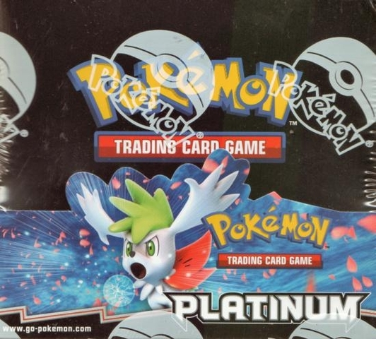 Pokemon Platinum Base Set Booster Box