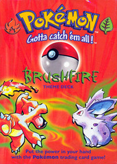 Pokemon Base Set - Brushfire Theme Deck