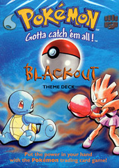 Pokemon Base Set - Blackout Theme Deck