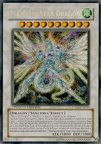 Majestic Star Dragon - CT06-EN003 - Secret Rare - Limited Edition - Promo