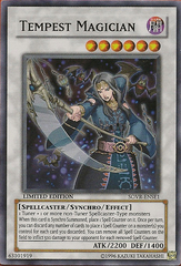 Tempest Magician - SOVR-ENSE1 - Super Rare - Limited Edition on Channel Fireball