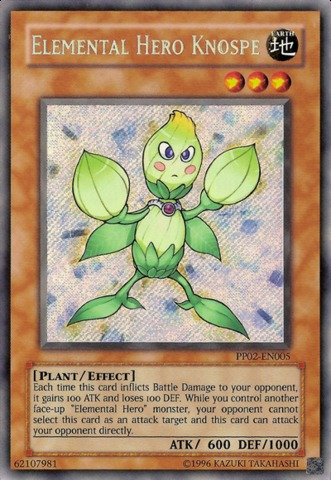 Elemental Hero Knospe - PP02-EN005 - Secret Rare - Unlimited Edition