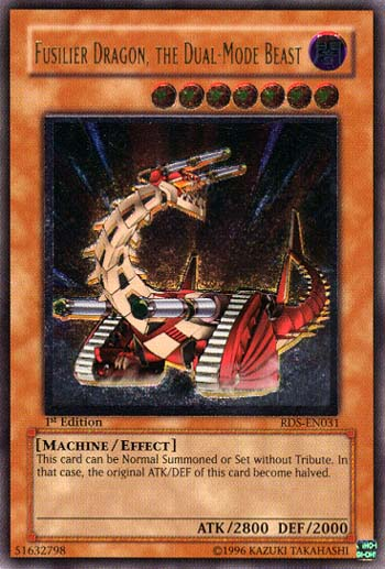 Fusilier Dragon, The Dual-Mode Beast - RDS-EN031 - Ultimate Rare - 1st Edition