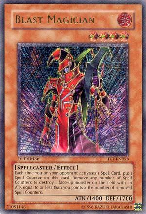 Blast Magician - FET-EN020 - Ultimate Rare - 1st Edition