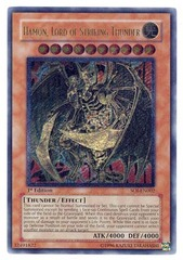 Hamon, Lord of Striking Thunder - SOI-EN002 - Ultimate Rare - 1st Edition