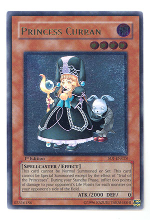 Princess Curran - SOI-EN028 - Ultimate Rare - 1st Edition