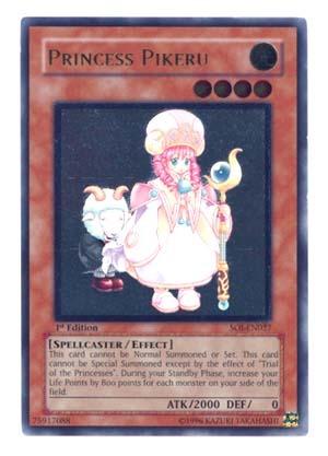 Princess Pikeru - Ultimate - SOI-EN027 - Ultimate Rare - 1st