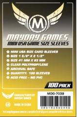 Mayday Games Mini USA Game Size Sleeves 100ct