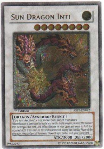 Sun Dragon Inti - Ultimate - ABPF-EN042 - Ultimate Rare - 1st