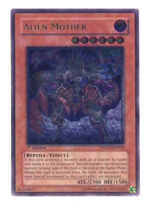 Alien Mother - POTD-EN028 - Ultimate Rare - 1st Edition