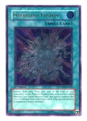 Overload Fusion - POTD-EN042 - Ultimate Rare - 1st Edition