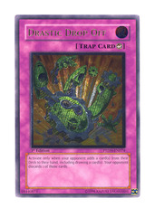 Drastic Drop Off - PTDN-EN074 - Ultimate Rare - 1st Edition