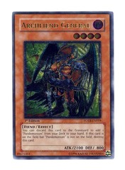 Archfiend General - Ultimate - FOTB-EN019 - Ultimate Rare - 1st Edition