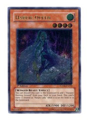 Harpie Queen - Ultimate - FOTB-EN020 - Ultimate Rare - 1st Edition on Channel Fireball