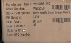 Heroclix Secret Invasion Case of 20 Packs