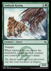 Ambush Krotiq on Channel Fireball