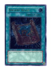 Ancient Rules - Ultimate - STON-EN037 - Ultimate Rare - 1st