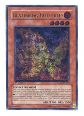 Blazewing Butterfly - Ultimate - TAEV-EN089 - Ultimate Rare - 1st Edition on Channel Fireball