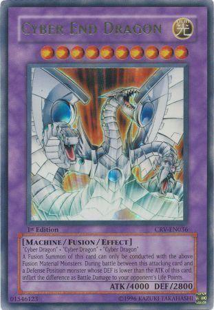 Cyber End Dragon - CRV-EN036 - Ultimate Rare - 1st Edition