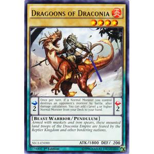 Dragoons of Draconia - SECE-EN000 - Rare - 1st Edition