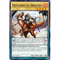 Dragoons of Draconia - SECE-EN000 - Rare - 1st Edition