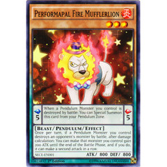 Performapal Fire Mufflerlion - SECE-EN001 - Common - 1st Edition