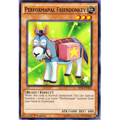 Performapal Friendonkey - SECE-EN003 - Common - 1st Edition