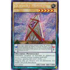 Qliphort Monolith - SECE-EN020 - Secret Rare - 1st Edition