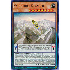 Qliphort Stealth - SECE-EN022 - Ultra Rare - 1st Edition