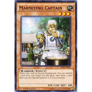 Marmiting Captain - SECE-EN043 - Common - 1st Edition