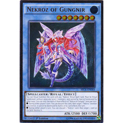 Nekroz of Gungnir - SECE-EN044 - Ultimate Rare - 1st Edition