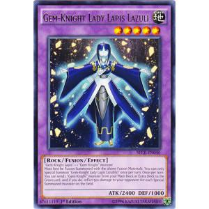 Gem-Knight Lady Lapis Lazuli - SECE-EN046 - Rare - 1st Edition
