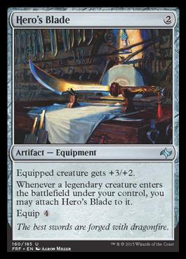 Heros Blade - Foil