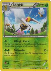 Beedrill - 3/160 - Rare - Reverse Holo on Channel Fireball