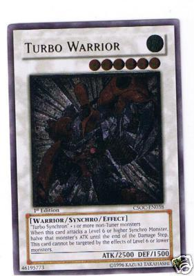 Turbo Warrior - CSOC-EN038 - Ultimate Rare - 1st Edition