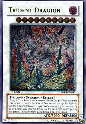 Trident Dragion - RGBT-EN043 - Ultimate Rare - 1st Edition