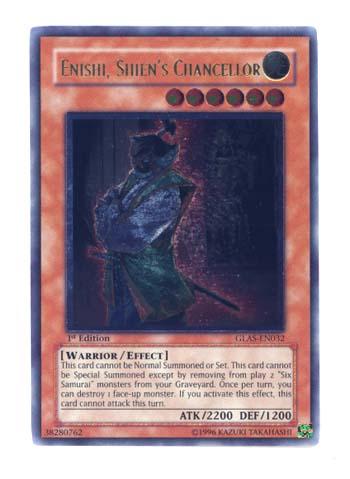 Enishi, Shiens Chancellor - GLAS-EN032 - Ultimate Rare - 1st Edition