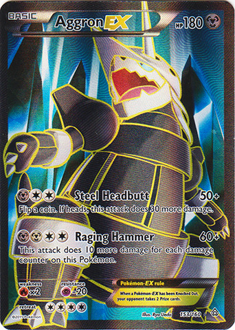Aggron-EX - 153/160 - Full Art