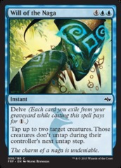Will of the Naga - Foil