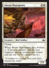 Abzan Skycaptain on Channel Fireball