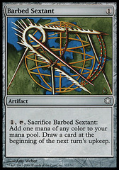 Barbed Sextant (Coldsnap Theme Deck Reprint)