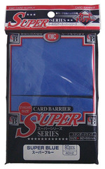 KMC Super Blue Sleeves (80 ct)