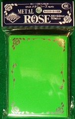 KMC Green Metal Rose 50 Sleeve Pack